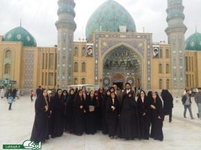 تداوم ارتباط با زائران عتبات دانشگاهیان با برگزاری اردوی زیارتی قم-جمکران