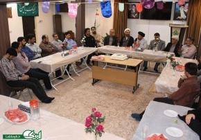 جلسه جمع بندی شانزدهمین دوره عتبات دانشگاهیان با حضور کارکنان ستاد برگزار شد