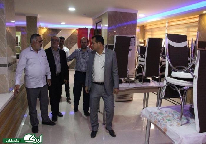 بازدید مسئول عملیات شمسا و نماینده ستاد در عراق از محل اسکان زائرین دانشگاهی در کربلا
