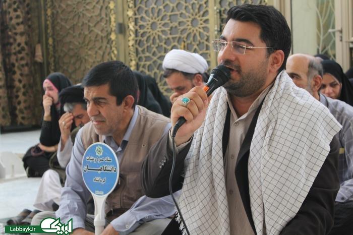 زیارت اول امیرالمومنین(ع) با حضور کاروان های دانشجویی در نجف برگزار شد