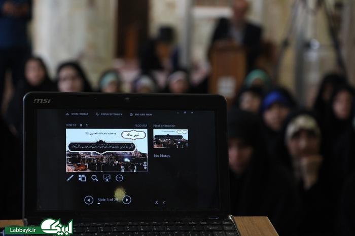 مراسم حرشناسی دانشگاهیان در مزار جناب حر/تصاویر