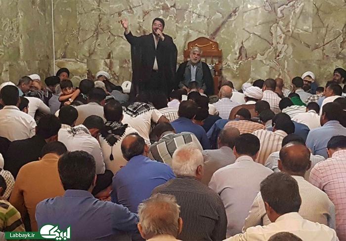 مراسم یادبود شهید مدافع حرم؛محسن حججی با حضور دانشگاهیان در حرم علوی برگزار شد