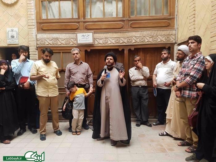 بازدید کاروان های دانشجویی از بیت حضرت امام خمینی(ره) در نجف...