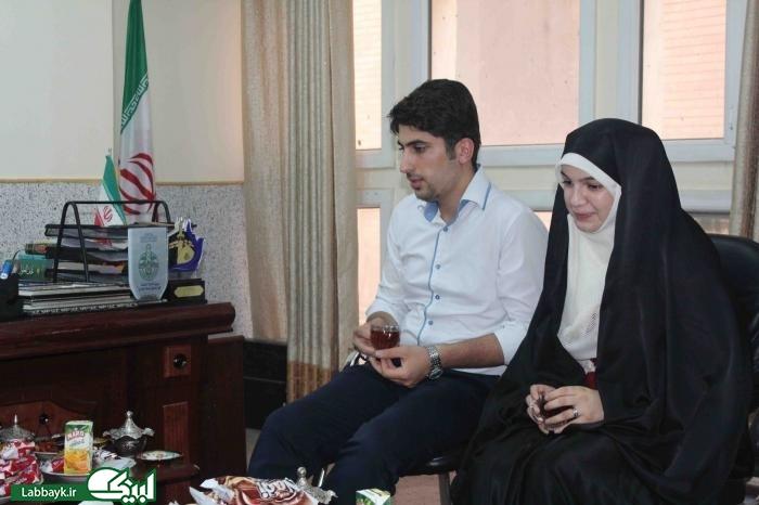 مراسم نمادین ازدواج زوج دانشجو در نجف اشرف