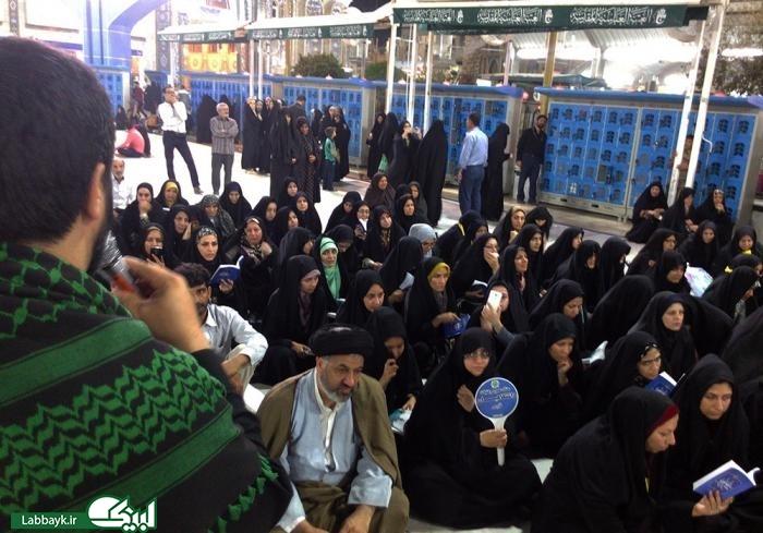 وداع جانگداز دانشگاهیان در شب شهادت امام جواد(ع)