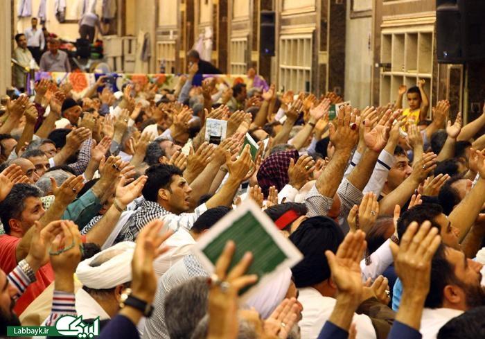مراسم باشکوه دعای عرفه درمطهرحرم سیدالشهدا(ع)/گزارش تصویری