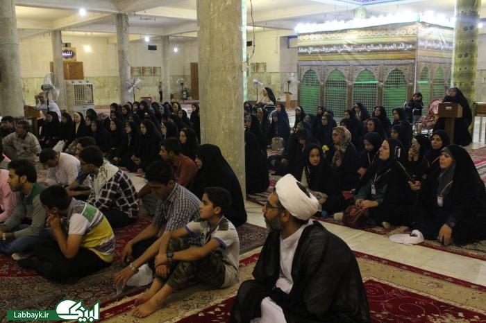 جشن میلاد امام هادی(ع)با حضور کاروان های دانشجویی در نجف برگزار شد