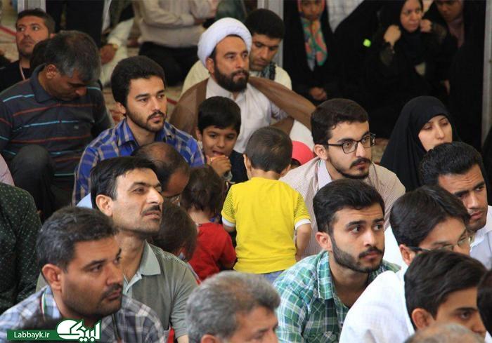 حضور پرشور دانشگاهیان در حرم حر بن ریاحی در روز میلاد امام کاظم(ع)