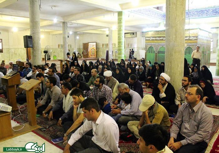 سوگواری دانشجویان در نجف اشرف همزمان با شهادت میثم تمار