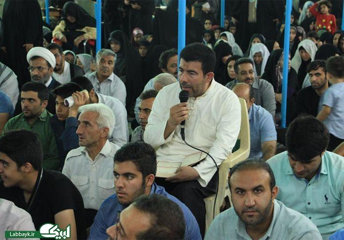 مراسم دعای کمیل در خیمه گاه حسینی با حضور کاروان های دانشگاهی برگزار شد/ گزارش تصویری