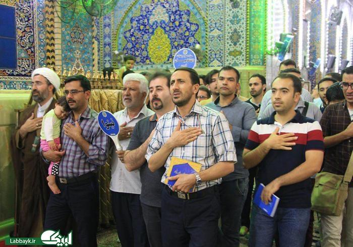 اولین زیارت کاروان های دانشگاهی روبروی قتلگاه حسینی