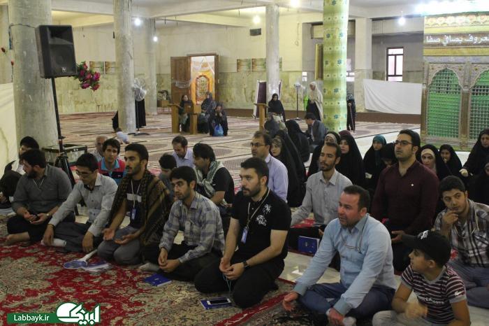 ذکر فضایل امیرالمومنین(ع)در جمع زائرین دانشگاهی در نجف