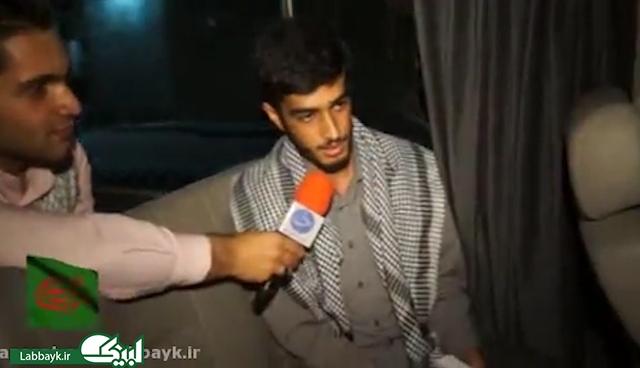 جوانان ایرانی از بین الحرمین می گویند(گزارش تلویزیونی)