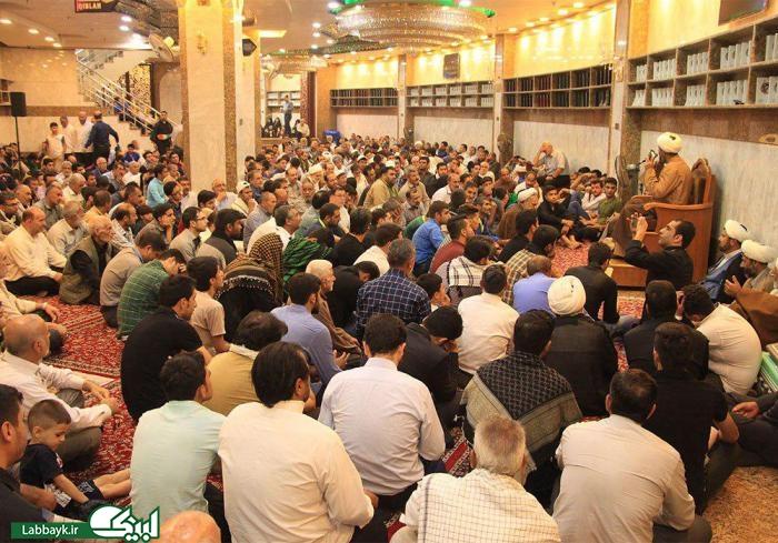 عزاداری ایرانیان در سرداب علقمی حرم حضرت عباس(ع)