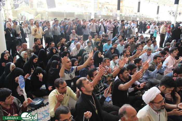 حضور شش کاروان دانشگاهی در برنامه سلام اول نجف اشرف