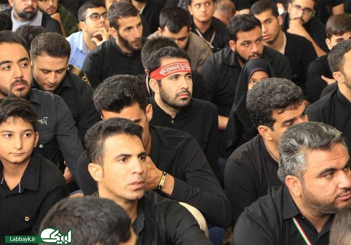 عزاداری دانشگاهیان در چهارمین روز ماه محرم در حرم حر بن ریاحی