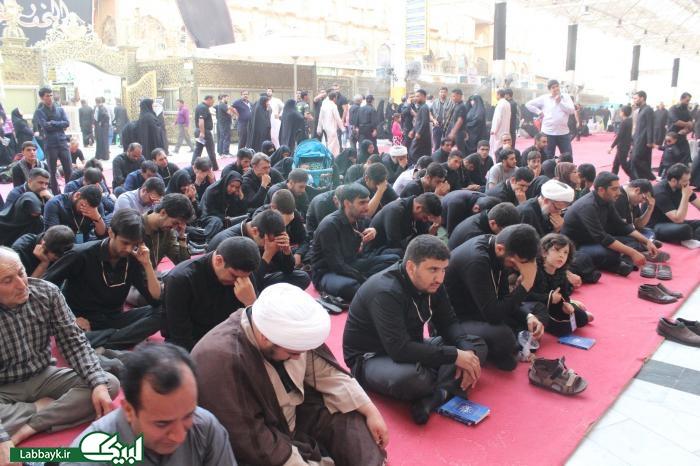 زیارت اول مولا به نیابت از شهید حججی/تصاویر