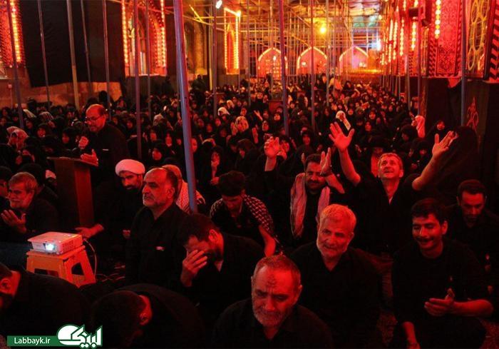 ندای یارب یارب ایرانیان در خیمه گاه حسینی کربلای معلی
