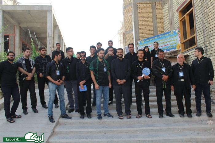 زائرین دانشجو با صاحب کتاب الغدیر در نجف آشنا شدند/تصاویر