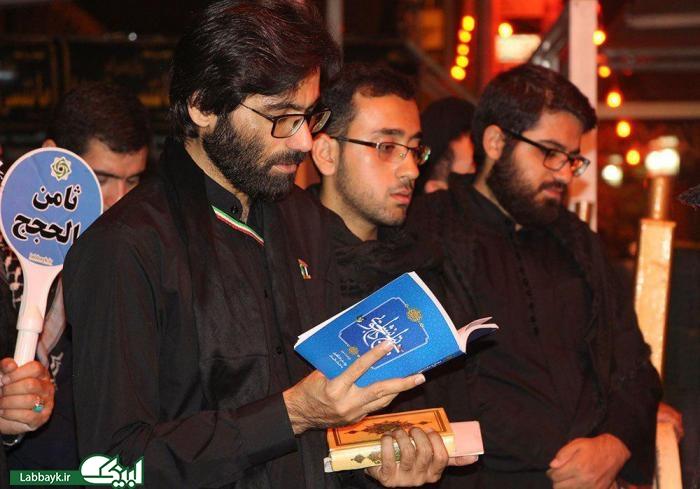 وداع زائرین جوان دانشجو با سید جوانان اهل بهشت در کربلا