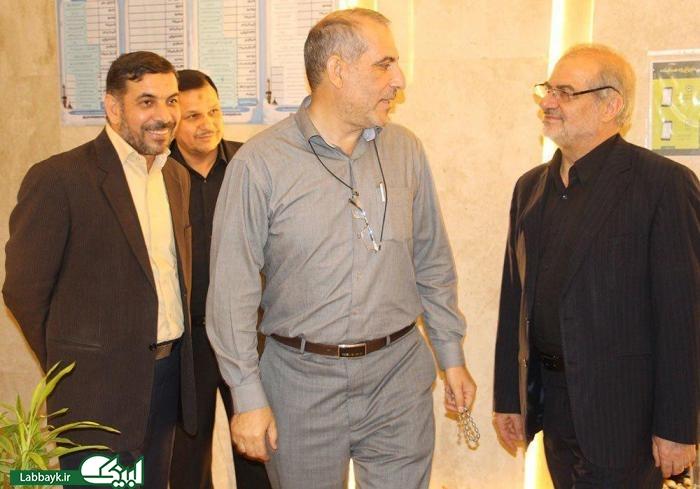 بازدید رئیس ستاد عملیات شمسا در عراق از محل استقرار دانشگاهیان در کربلا