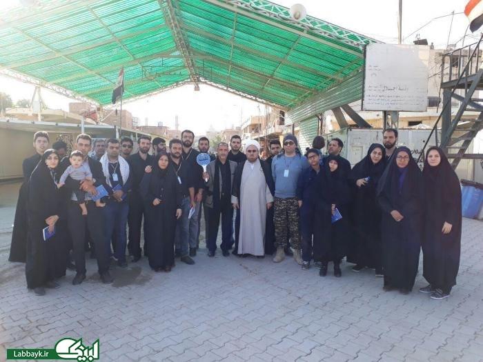 گزارش تصویری از کاروان دانشگاهی علقمه از استان البرز در عتبات عالیات