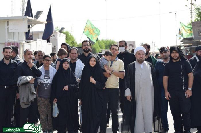 حضور کاروان علقمه از استان البرز در عتبات عالیات