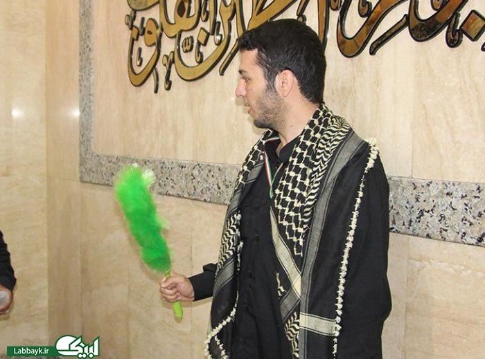 زائرین دانشجو؛ خادمین افتخاری سرداب حرم حضرت عباس(ع) شدند
