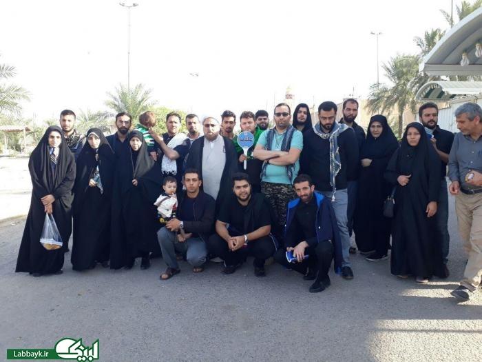 حضور کاروان دانشجویی علقمه البرز در نجف اشرف