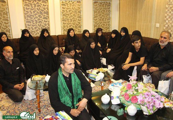 کاروان روشندلان جابر با مسئول بعثه مقام معظم رهبری در عراق دیدار کردند