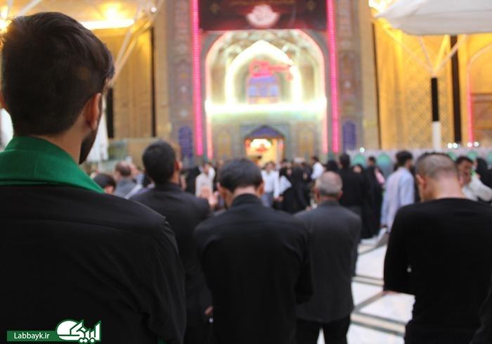 گزارش تصویری از اولین سلام دانشجویان در نجف