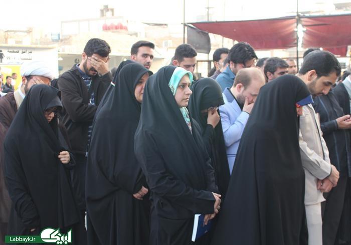 برنامه اولین سلام برای آخرین کاروان دانشگاهی در نجف برگزار شد
