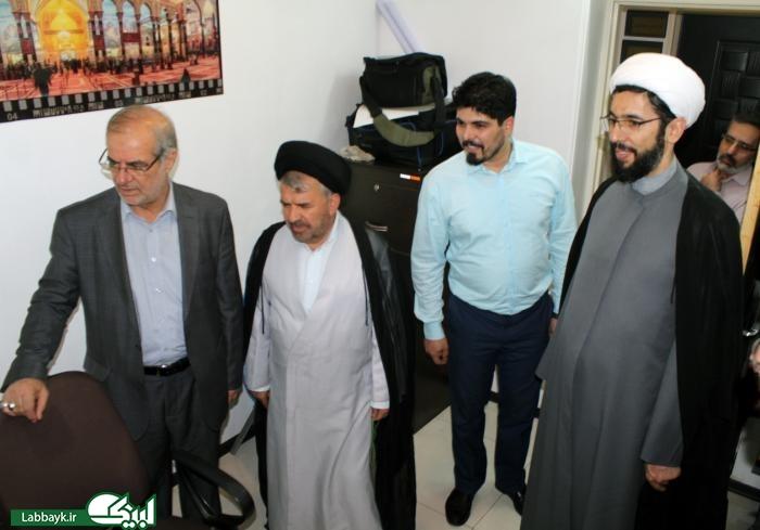 معاون فرهنگی سیاسی نهاد از ستاد عمره و عتبات دانشگاهیان بازدید کرد