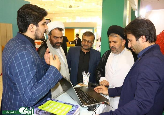رئیس ستاد از غرفه لبیک در نمایشگاه رسانه های دیجیتال بازدید کرد