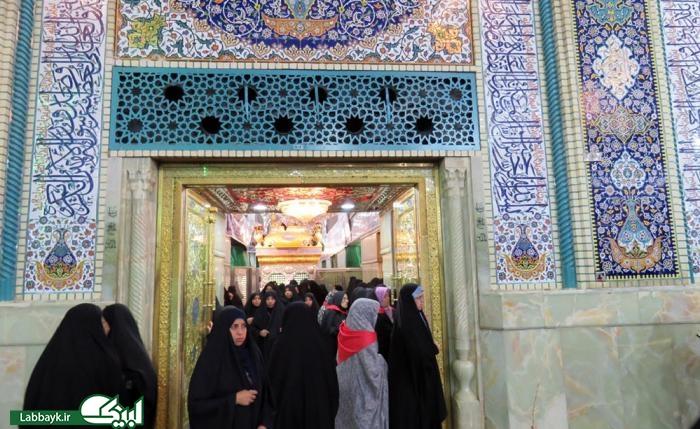 تصاوير جديد از روزهاي خلوت حرم امام حسين(ع) در كربلا