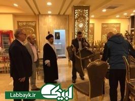 هتلهاي دانشگاهیان در عتبات عاليات توسط مسئولین ستاد بازدید شد