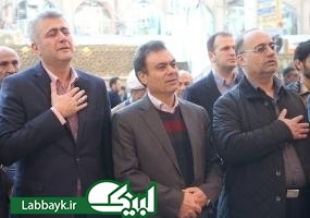 گزارش تصویری از ورود مدیرعامل بانک ملت به نجف اشرف