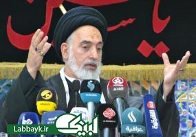 تجلیل امام جمعه نجف اشرف از انقلاب اسلامی ایران در خطبه های نماز جمعه