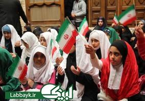 تجدید میثاق دانش آموزان ایرانی مقیم نجف با آرمان های انقلاب