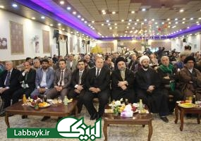 تبریک بزرگان عشیره ها و مقامات حکومتی نجف به مناسبت سالگرد پیروزی انقلاب