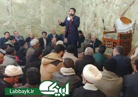 مسجد عمران ابن شاهین ، قرار روضه و مداحی زائرین عتبات ایرانی