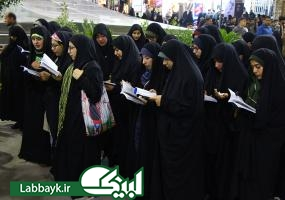 روایتی از حال و هوای سلام اول زائران دانشگاهی در کربلا/تصاویر