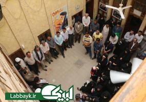 بازدید دانشجویان از بیت امام خمینی(ره)در نجف اشرف