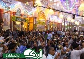 جشن میلاد حضرت سیدالشهدا(ع) در کربلا برگزار شد