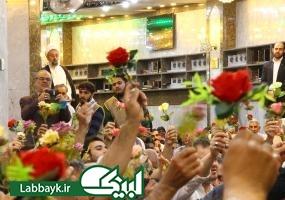 جشن ميلاد حضرت قمر بني هاشم (ع)در سرداب علقمی برگزار شد