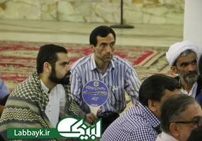 ذکر فضایل امیرالمومنین علی(ع)در جمع زائرین دانشگاهی