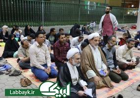 مراسم وداع زائرین دانشگاهی با نجف اشرف در حرم مطهر علوی برگزار شد