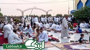 خدمت رسانی میهمانسرای حرم حضرت عباس (ع) در ایام ماه مبارک رمضان