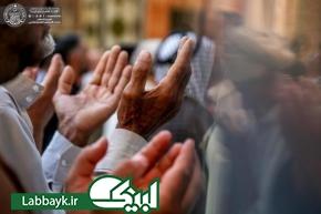 اقامه نماز عید سعید فطر در صحن مطهر علوی + تصاویر