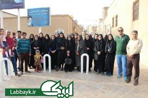 اردوی پس از سفر عتبات با اعزام دومین کاروان از کرمان در شهر قم برگزار شد